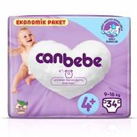 Size 4+ Maxiplus Baby Diaper Eco-Pack 9-16 kg 34 pcs