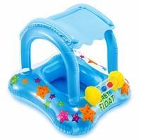 Güneş Korumalı Ayak Geçmeli Baby Float