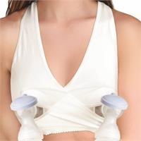 Breastfeeding & Pump Bra Ecru Size M
