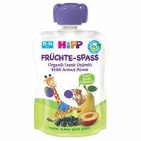 Organic Pear Puree with Blackcurrant Plum 90 gr