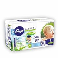 Naturel Baby Panty Diaper Midi 3 Size 34 pcs