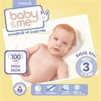 Midi Number 3 Baby Diaper 4-9 kg 100 pcs
