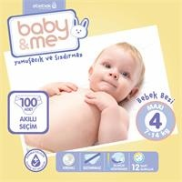 Maxi Number 4 Baby Diaper 7-14 kg 100 pcs