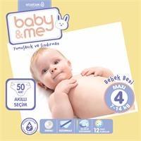 Maxi 4 Numara Bebek Bezi 7-14 kg 50 Adet