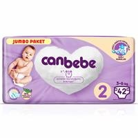 2 Beden Jumbo Paket Mini Bebek Bezi 3-6 kg 42 adet