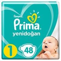 Bebek Bezi Aktif Bebek 1 Beden Yenidoğan Standart Paket 2-5 kg 48 Adet