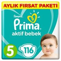 Active Baby Diapers Size 5 Junior Monthly Advantage Pack 11-16 kg 116 pcs