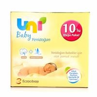 Newborn Baby Wet Cotton Wipes Mega Value Package 10x40 Count