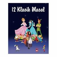 12 Classical Fairy Tales 197 Pages - Turkish Book