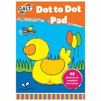 Dot To Dot Pad / Connect the Dots and Coloring Book Age 5 +
