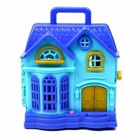 Toy Light-Up Doll House with Audio