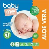 Aloe Vera Yenidoğan 1 Bebek Bezi 2-5 kg 50 adet