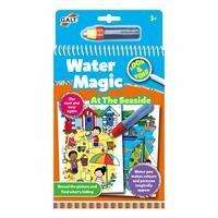 Water Magic Magical Book At The Seaside - Seaside 3 Years +
