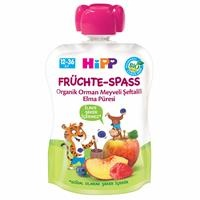 Organic Mashed with Forest Fruits Peach Apple 90 gr