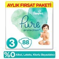 Pure Baby Diaper Size 3 Midi 6-10 kg Monthly Advantage Pack 88 pcs