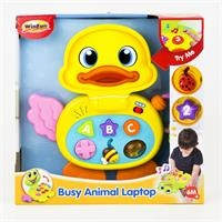 Educational Busy Animal Laptop Duck