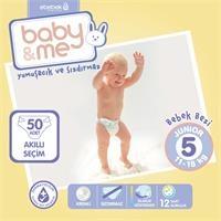 Junior 5 Numara Bebek Bezi 11-18 kg 50 Adet