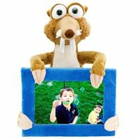 Ice Age Figured Wooden Frame
