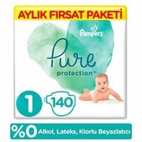 Pure Baby Diaper Size 1 Newborn 2-5 kg Monthly Advantage Pack 140 pcs