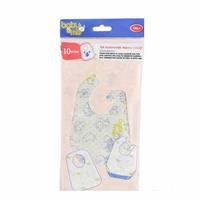 Disposable Baby Feeding Bibs 10 pcs