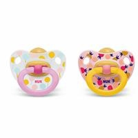 Happy Kids Baby Rubber Pacifier 6-18 m 2 pcs