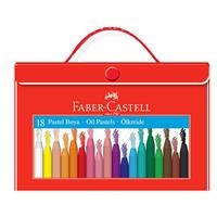Faber Castell Pastel Paint with Plastic Bag Holder 18 Colors