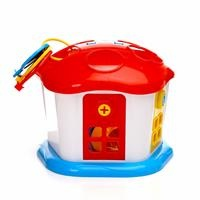 Shape Sorter Sweet House with Lockable Doors 1 Years+