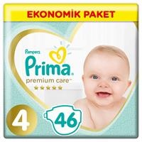 Baby Diaper Premium Care Size 4 Maxi Economic Pack 9-14 kg 46 pcs