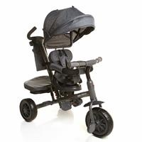 Bicycle with Swivel Seat Black&Grey