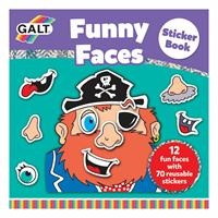 Funny Faces Sticker Book / Funny Faces Sticker Book Ages 3 +