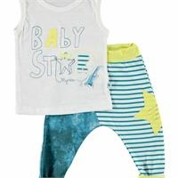 Street Trend Baby Boy Shorts Set 2 pcs Set