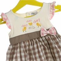Bebek Farmstead Temalı Elbise
