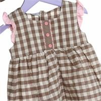 Baby Girl Farmstead Theme Girl Dress