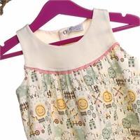 Kız Bebek Farmstead Temalı Elbise