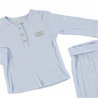 Dino Jacquard Baby Pyjama Set