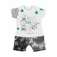 Street Trend Glass Detail Baby Boy Bodysuit