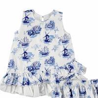 Bebek Fırfırlı Elbise