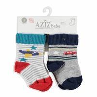 Kış Bebek 2'Li Çorap
