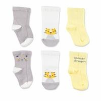 3 Pack Baby Socks Tiger