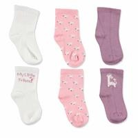 3 Pack Baby Socks Giraffe