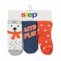 3 Pack Baby Socks Lets Play