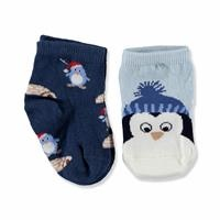 2 Pack Baby Socks Penguin