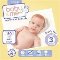 Midi Number 3 Baby Diaper 4-9 kg 50 pcs
