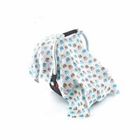 Infant Carrier Cover Elephant Patterned