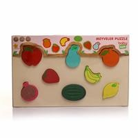 Wooden Fruits Baby Puzzle