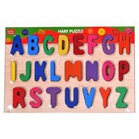 Wooden Baby Letters Puzzle
