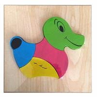 Wooden Animals Mini Baby Puzzle