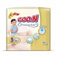 Baby Premium Soft Baby Diaper Size 5 Jumbo Pack 24 pcs 12-20 kg