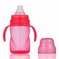 Traning Cup with Soft Spout 270 ml - Pink 9 M+