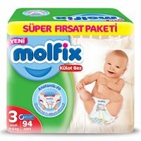 Baby Panty Diapers Midi Super Advantage Pack 94 pcs